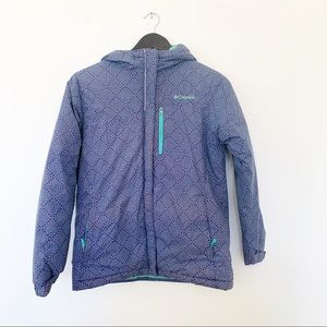 Columbia Alpine Free Fall Purple Winter Jacket